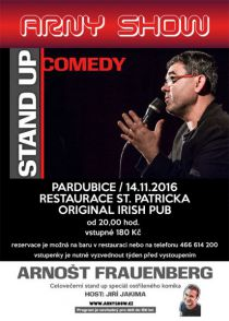 Stand up comedy restaurace St.Patrick Pardubice